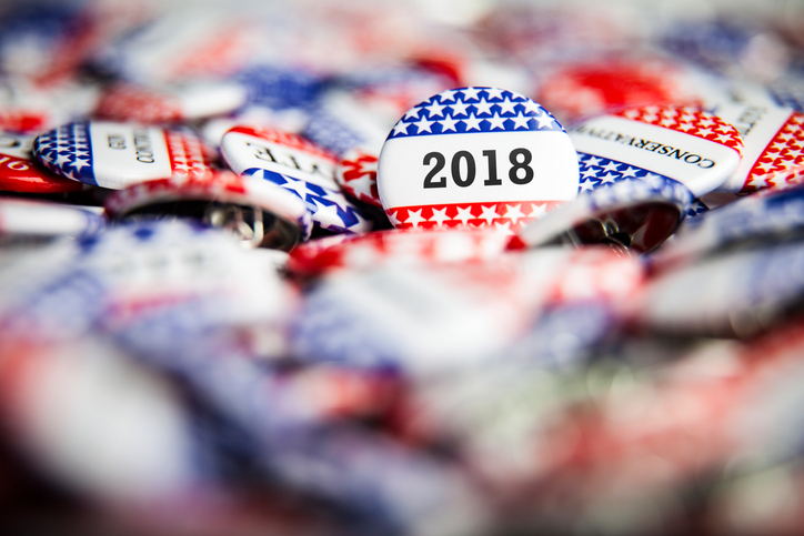 2018 election buttons