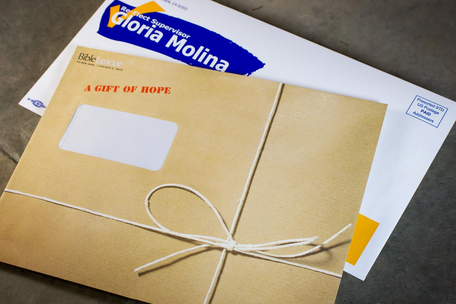 Larger envelopes convey an air of importance and stand out in a mailbox or on a desk