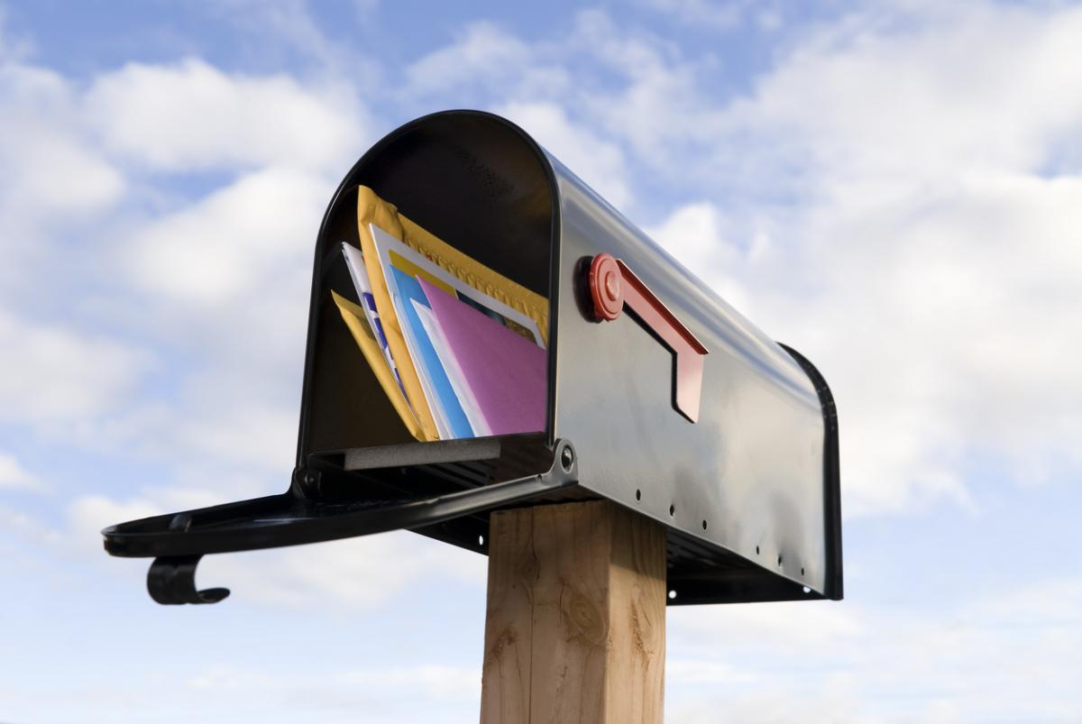 USPS 2021 Promotions Tension mailbox image