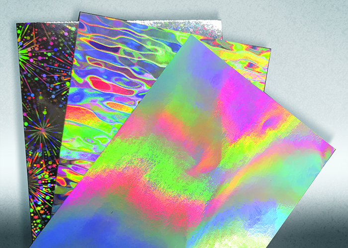 metallic paper options