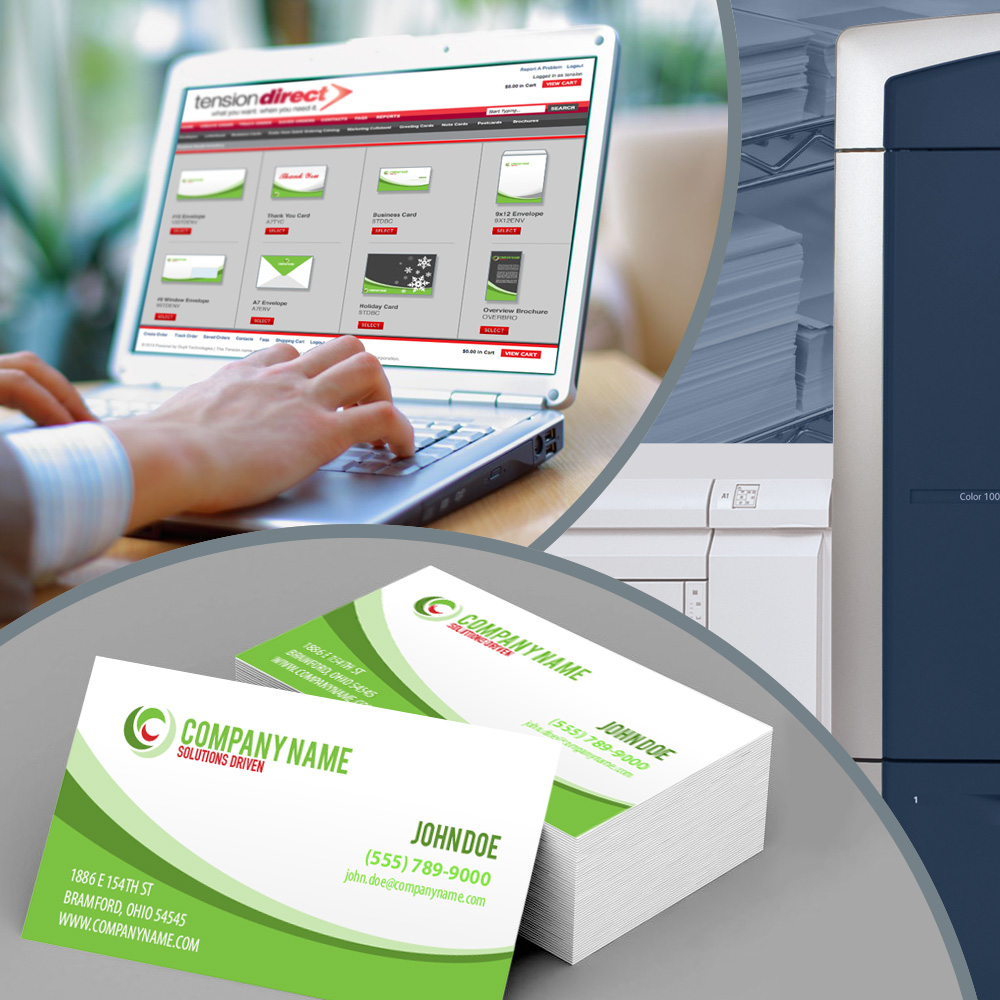 Print on demand with Tension's web-to-print solutions