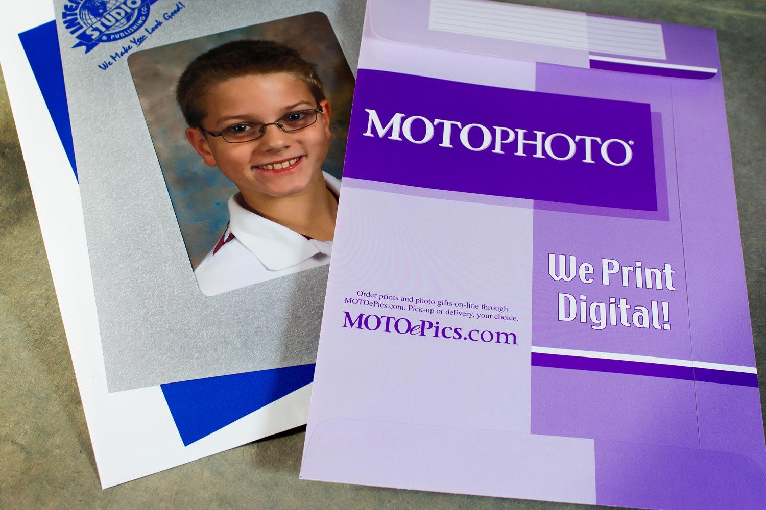School picture envelopes