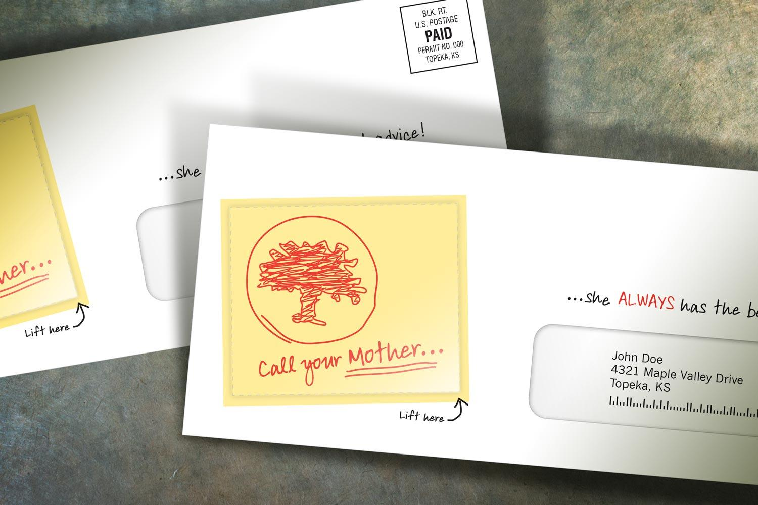 Hot Note Sticky Notes for Direct Mail Marketing