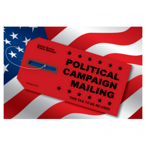 political mail red tag