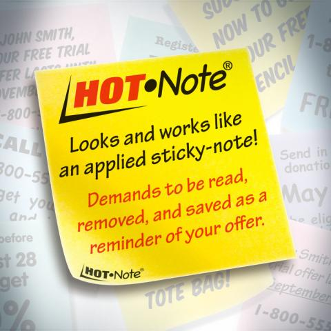 Hot Note® Now a Registered Trademark
