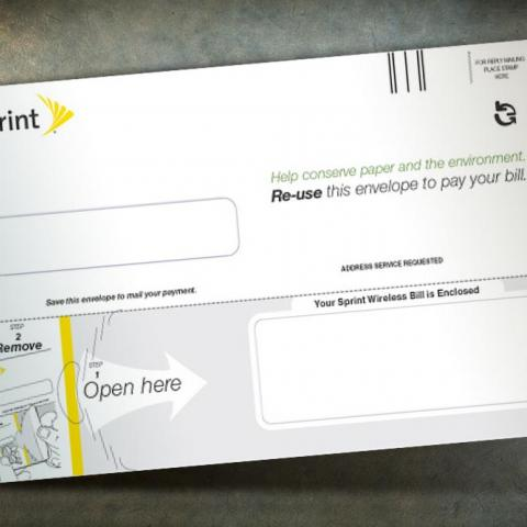Sprint Two-Way Reusable ecoEnvelope®