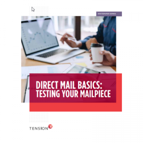 testing direct mailpiece