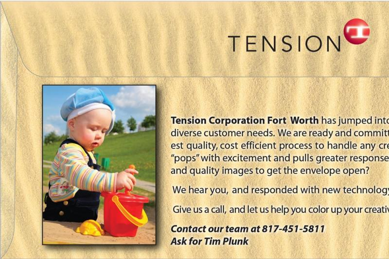 Tension Fort Worth B2B Envelope