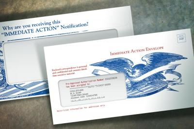 Immediate Action Envelope