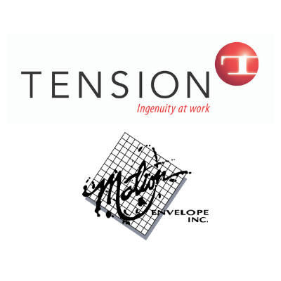 Tension Corporation and Motion Envelopes logos