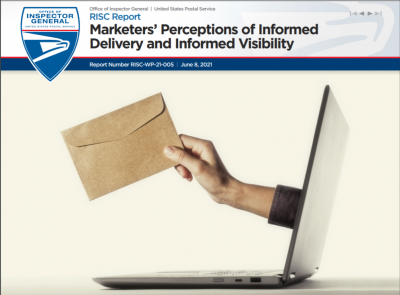 OIG Report Marketers' Perceptions of Informed Delivery and Informed Visibility