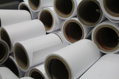 Rolls of envelope paper