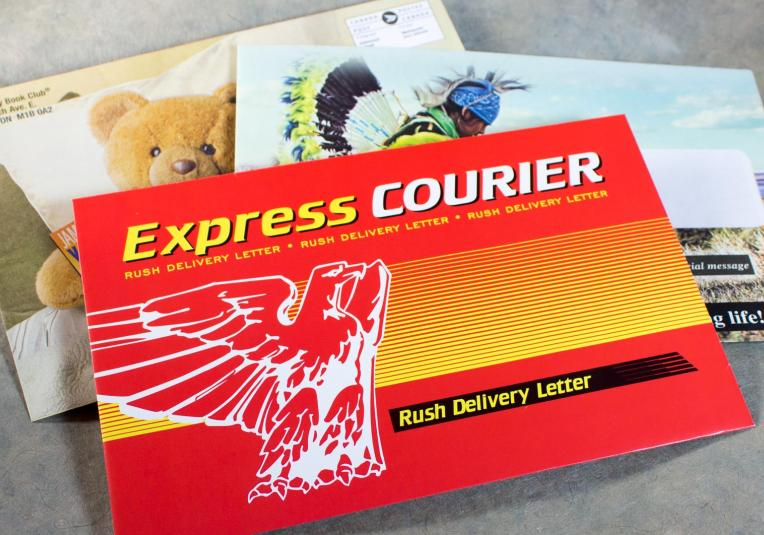 Full Color 6x9 Envelopes - Express Courier
