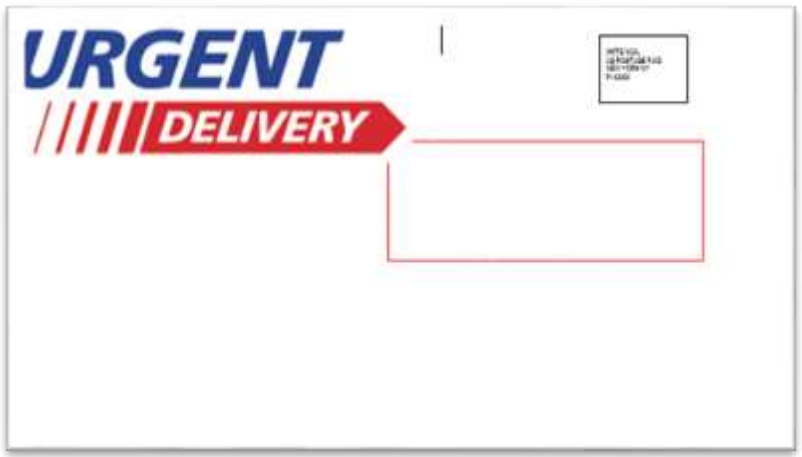 urgent delivery mailpiece