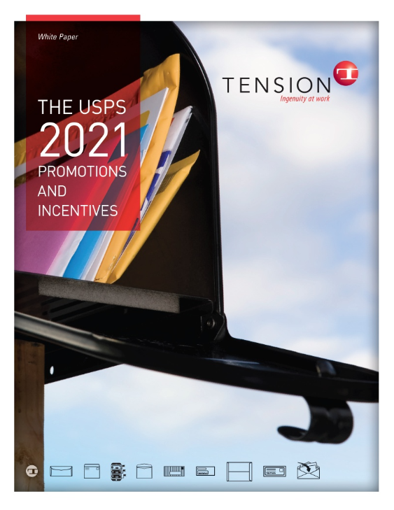 USPS 2021 Promotions white paper image